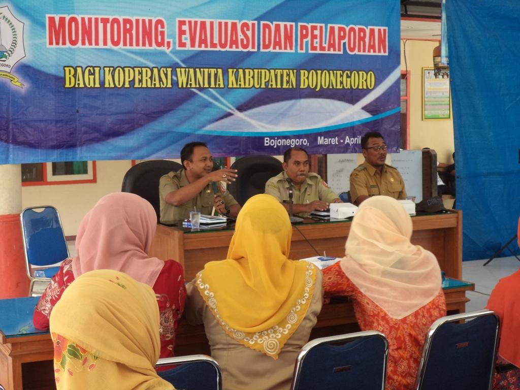 Monitoring dan Evaluasi<BR>Kinerja Perkoperasian