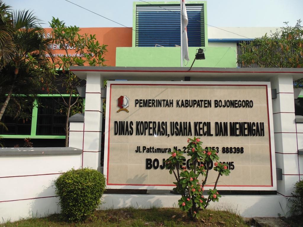 Kantor Resmi<BR>Dinas Koperasi, Usaha Kecil dan Menengah Kabupaten Bojonegoro