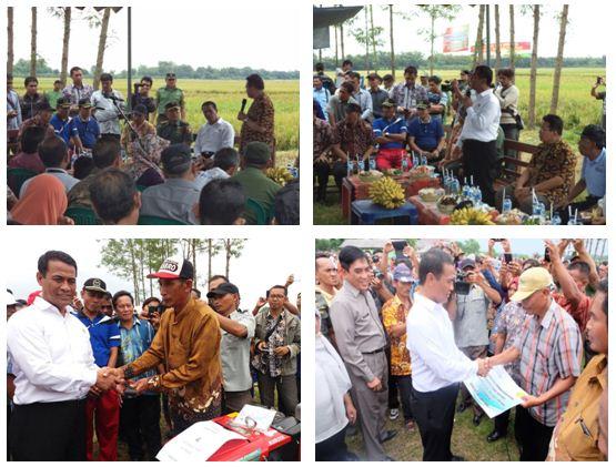 Kunjungan Kerja Menteri Pertanian Republik Indonesia<BR>Di Desa Tambahrejo Kecamatan Kanor